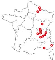 Carte agences Particuliers / TNS / TPE