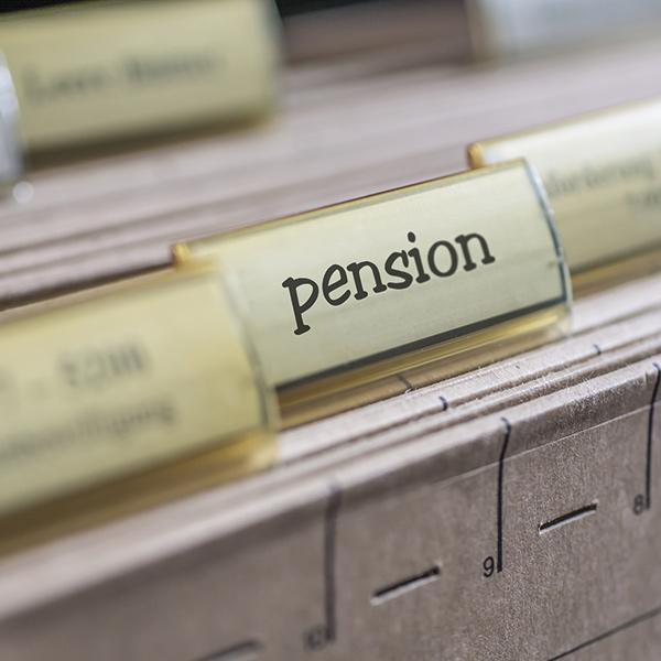Dossier suspendu pension